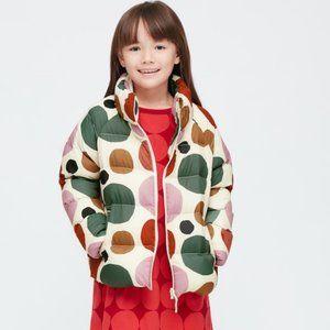 GIRLS MARIMEKKO LIGHT WARM PADDED JACKET Age 5-6